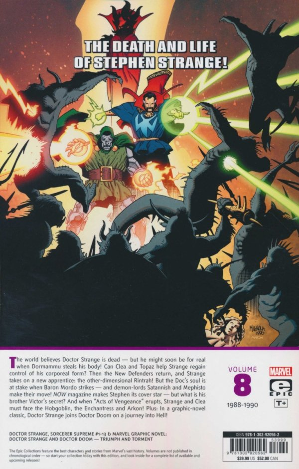 DOCTOR STRANGE EPIC COLLECTION TRIUMPH AND TORMENT SC