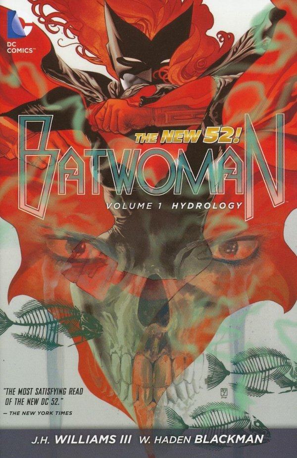BATWOMAN VOL 01 HYDROLOGY HC