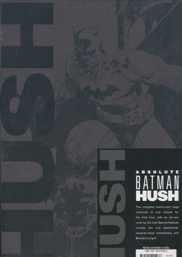 ABSOLUTE BATMAN HUSH HC (BOX) (NEW EDITION)