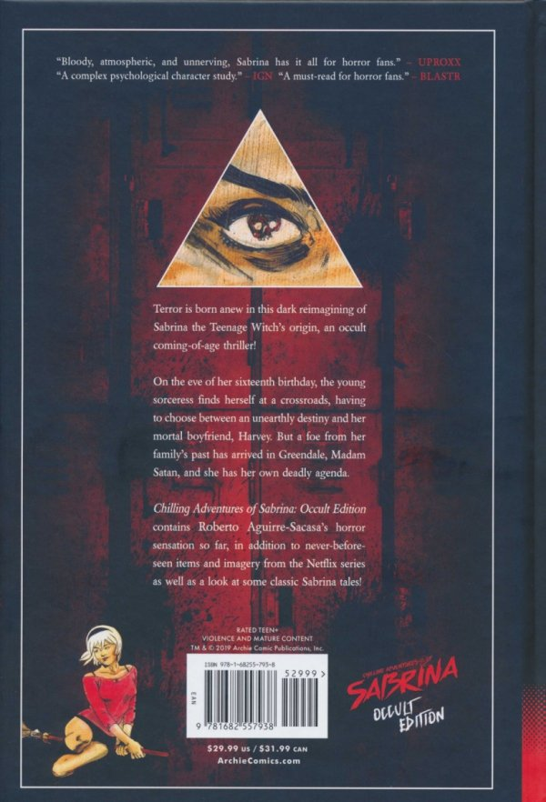 CHILLING ADVENTURES OF SABRINA OCCULT ED HC