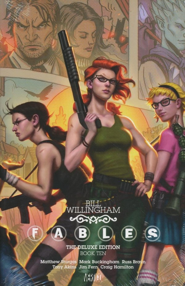 FABLES THE DELUXE EDITION VOL 10 HC
