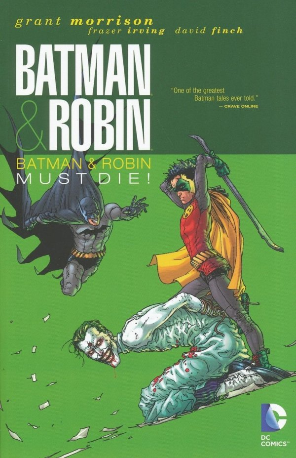 BATMAN AND ROBIN BATMAN AND ROBIN MUST DIE SC