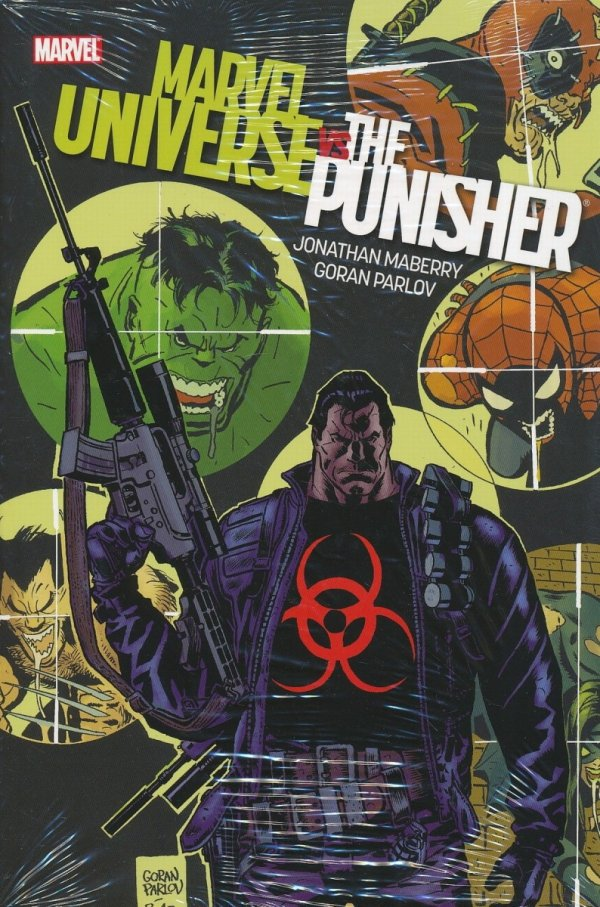 MARVEL UNIVERSE VS PUNISHER HC
