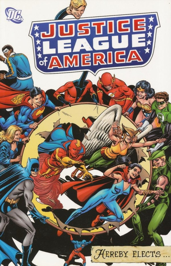 JUSTICE LEAGUE OF AMERICA HEREBY ELECTS SC