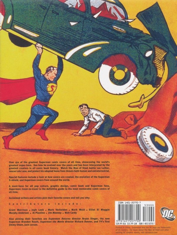 SUPERMAN COVER TO COVER HC