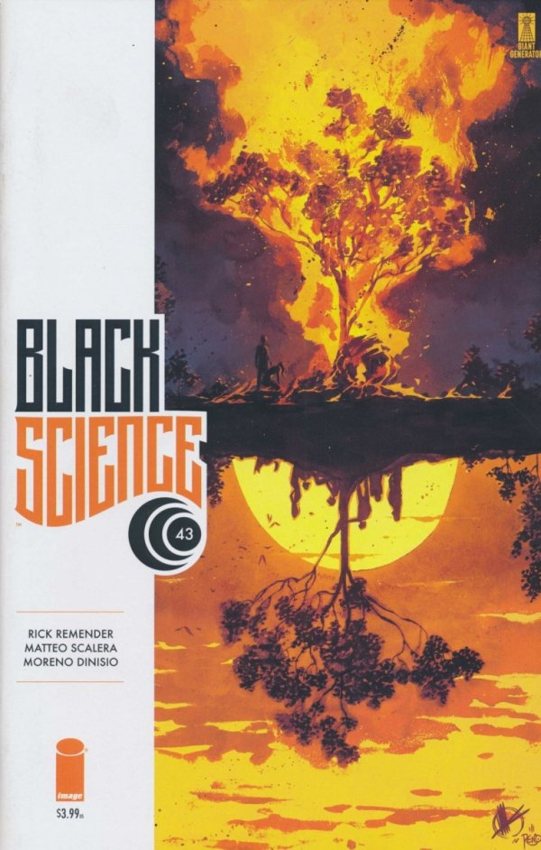 BLACK SCIENCE #43 CVR A
