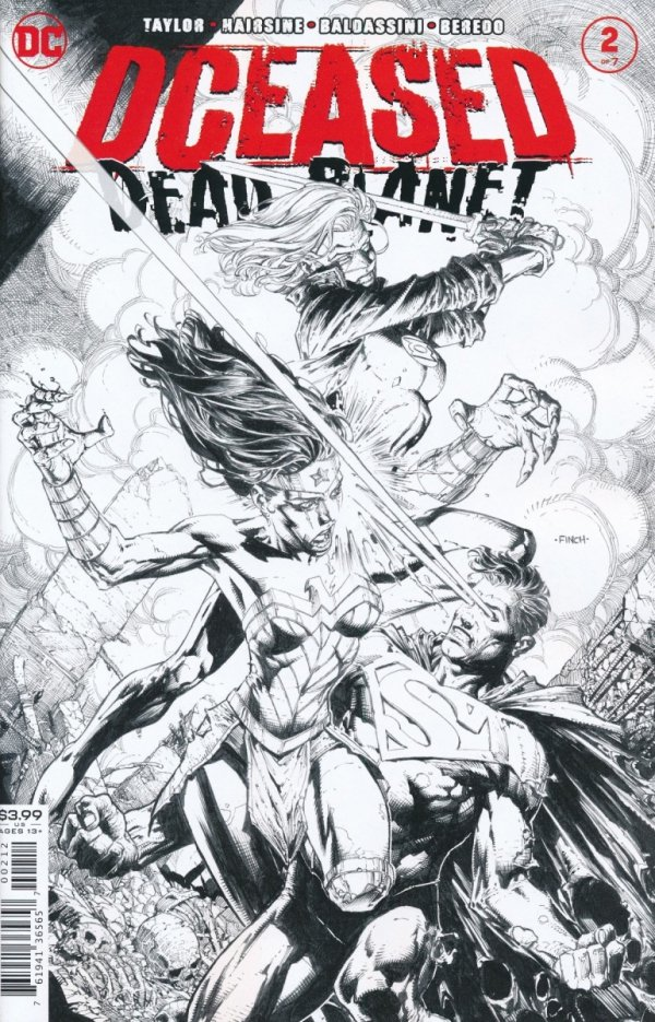 DCEASED DEAD PLANET #2 2ND PTG