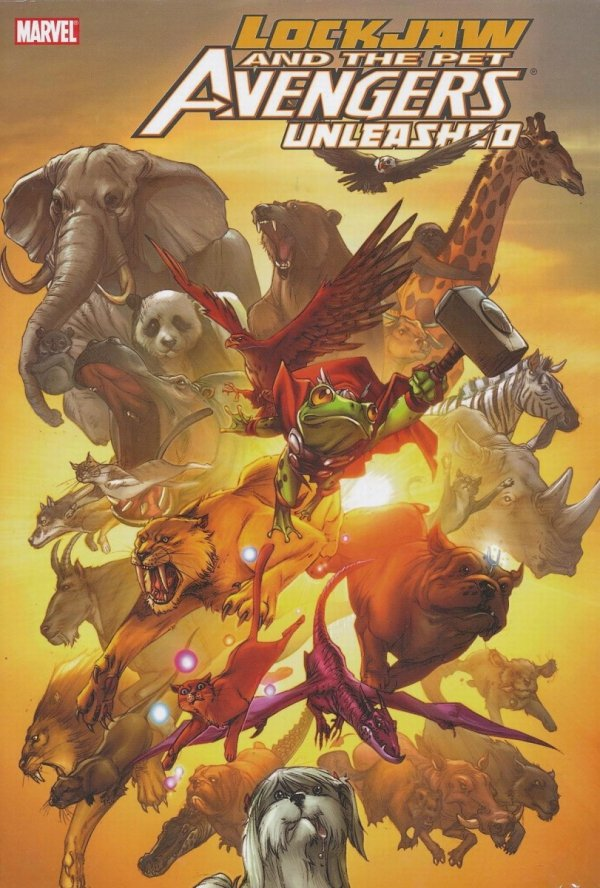 LOCKJAW & PET AVENGERS UNLEASHED HC