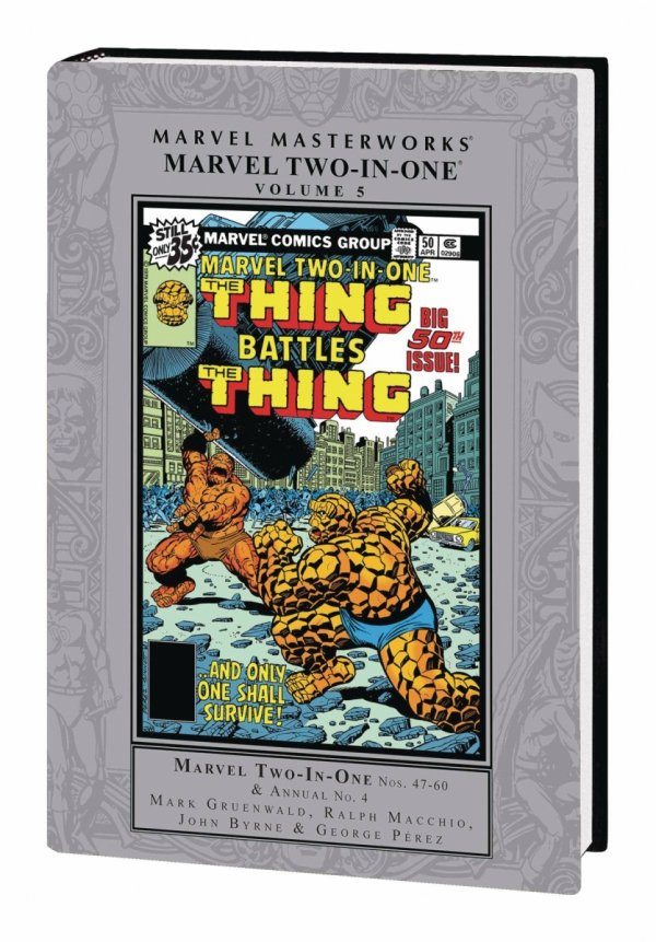 MARVEL MASTERWORKS MARVEL TWO-IN-ONE VOL 05 HC (STANDARD COVER) *