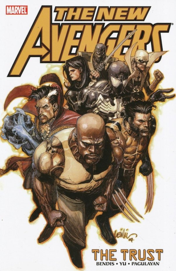 NEW AVENGERS VOL 07 THE TRUST SC