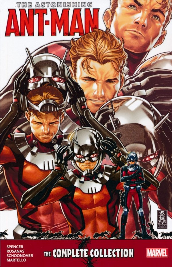 ASTONISHING ANT-MAN THE COMPLETE COLLECTION SC