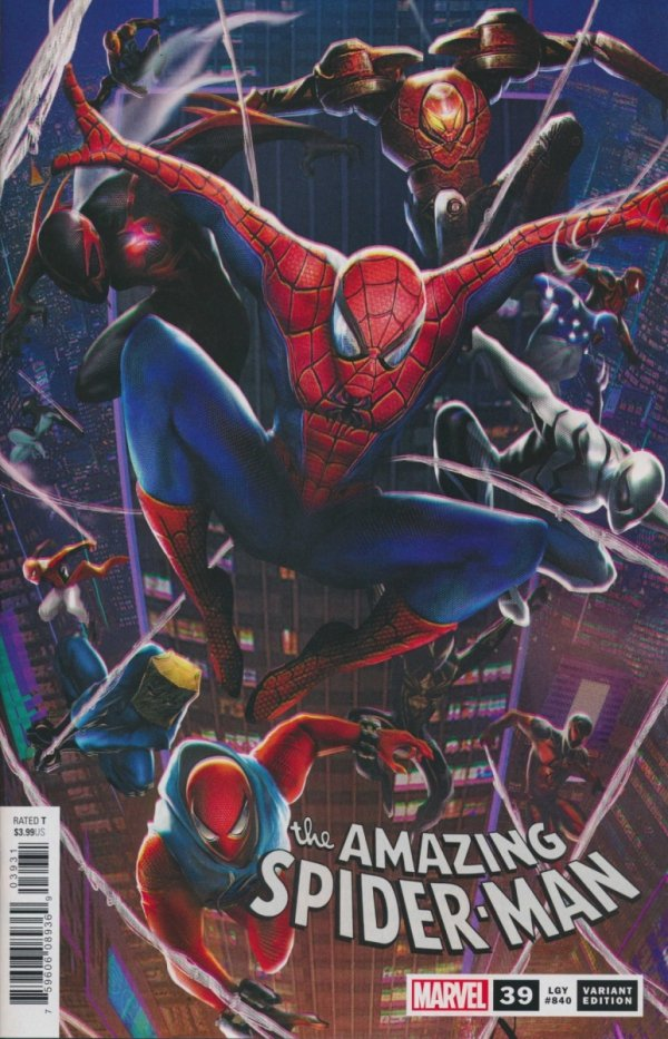 AMAZING SPIDER-MAN #39 JIE YUAN CONNECTING CHINESE NEW YEAR VAR