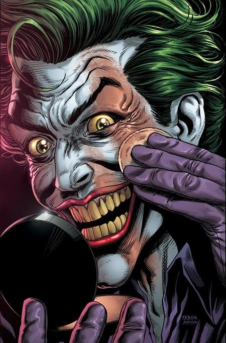 BATMAN THREE JOKERS #2 PREMIUM VAR F APPLYING MAKEUP *
