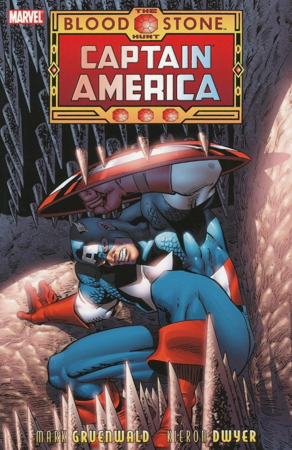CAPTAIN AMERICA THE BLOODSTONE HUNT SC