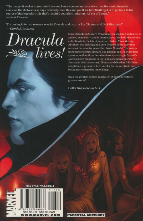 MARVEL ILLUSTRATED DRACULA SC
