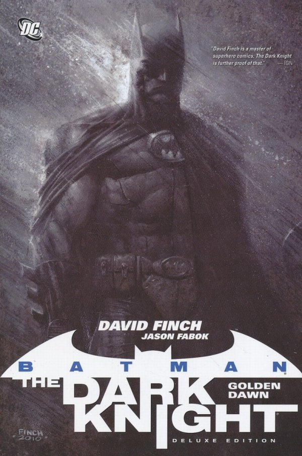 BATMAN THE DARK KNIGHT GOLDEN DAWN HC