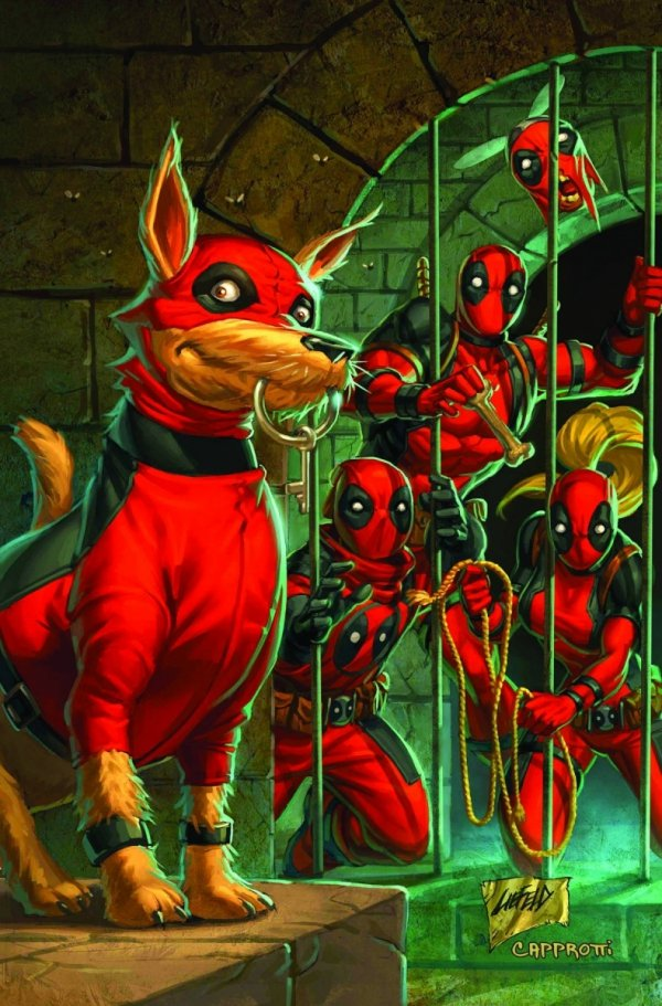 PRELUDE TO DEADPOOL CORPS HC **