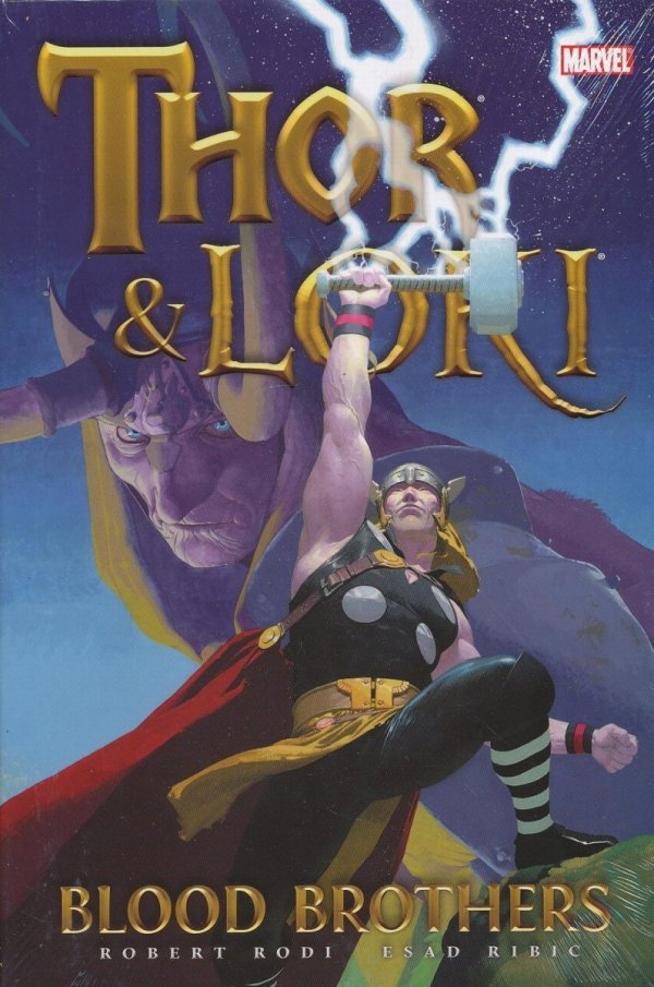 THOR AND LOKI HC BLOOD BROTHERS