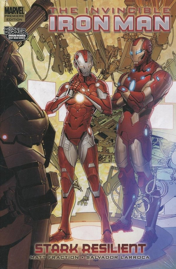 INVINCIBLE IRON MAN VOL 06 STARK RESILIENT BOOK 2 HC