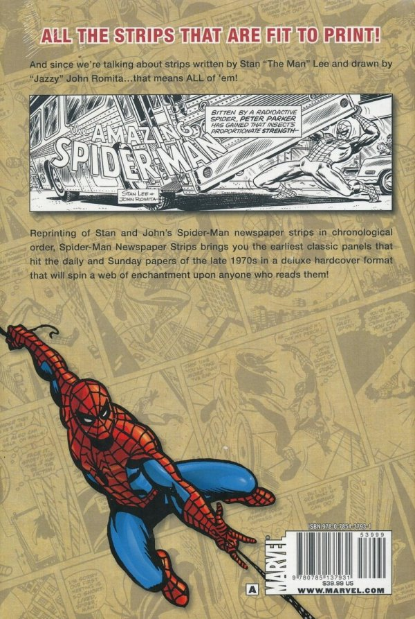 SPIDER-MAN NEWSPAPER STRIPS HC VOL 01