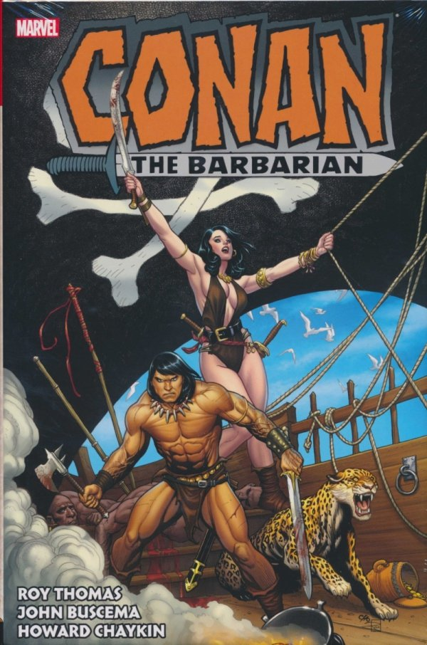 CONAN THE BARBARIAN THE ORIGINAL MARVEL YEARS OMNIBUS VOL 03 HC (STANDARD COVER)