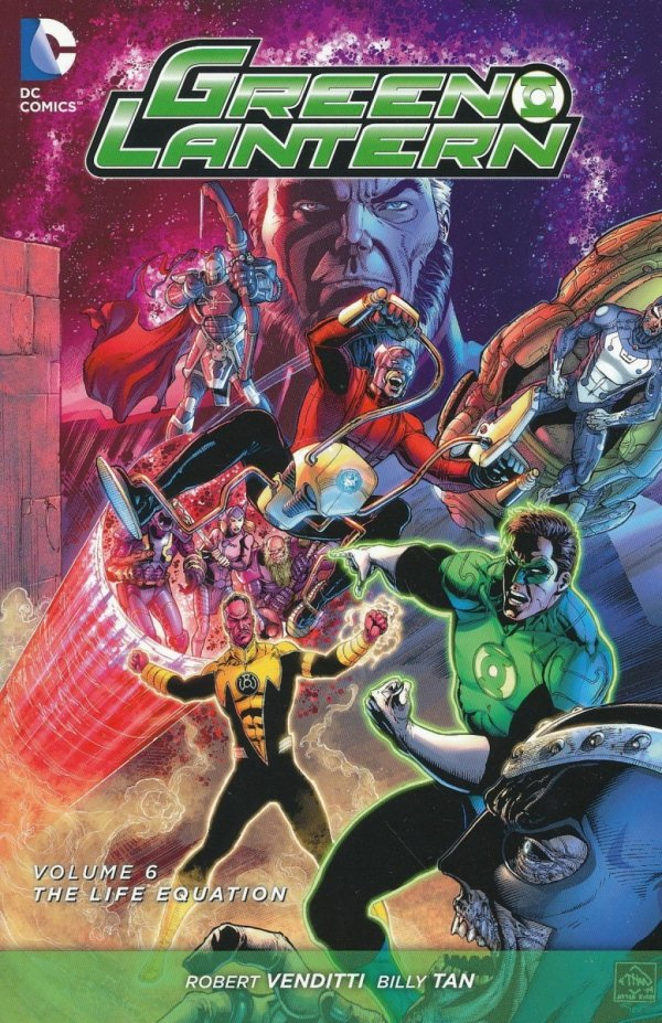 GREEN LANTERN VOL 06 THE LIFE EQUATION SC