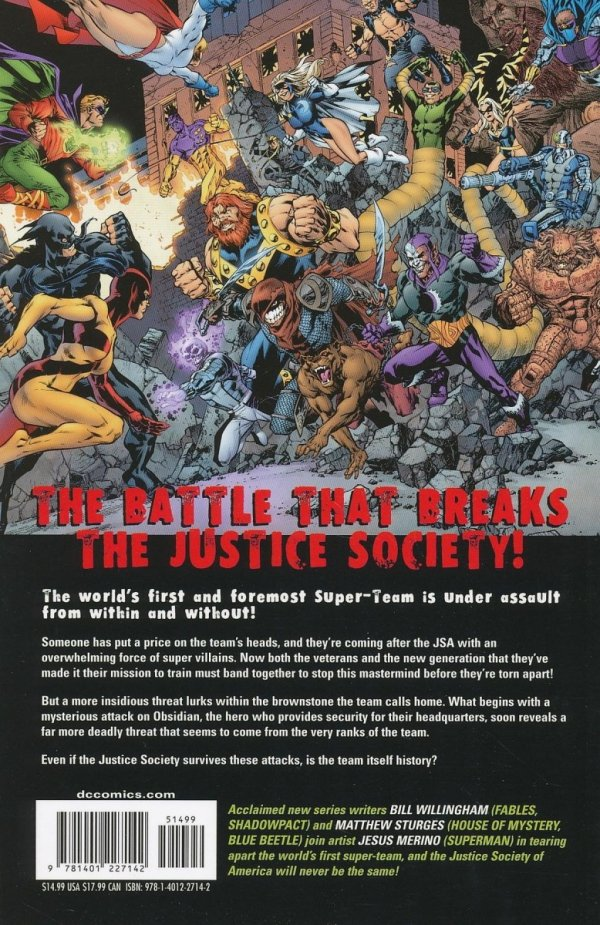 JUSTICE SOCIETY OF AMERICA BAD SEED SC