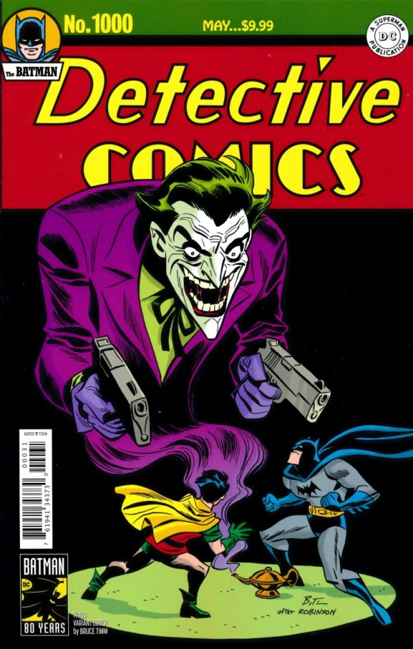 DETECTIVE COMICS #1000 1940S BRUCE TIMM VARIANT COVER