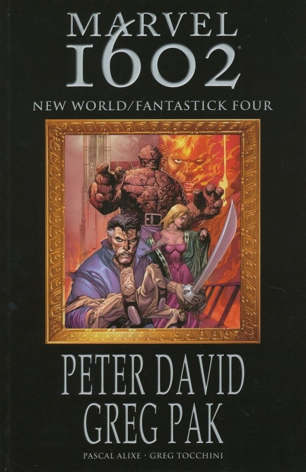 MARVEL 1602 NEW WORLD FANTASTICK FOUR SC