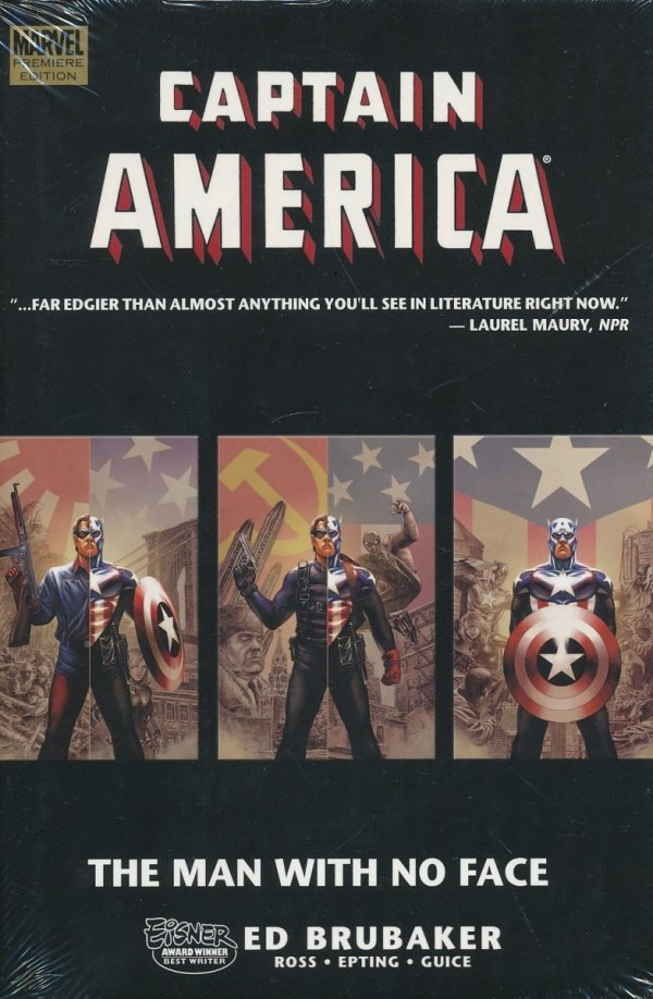CAPTAIN AMERICA THE MAN WITH NO FACE HC **