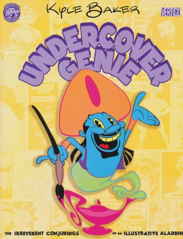 UNDERCOVER GENIE THE IRREVERENT CONJURINGS OF AN ILLUSTRATIVE ALLADIN SC