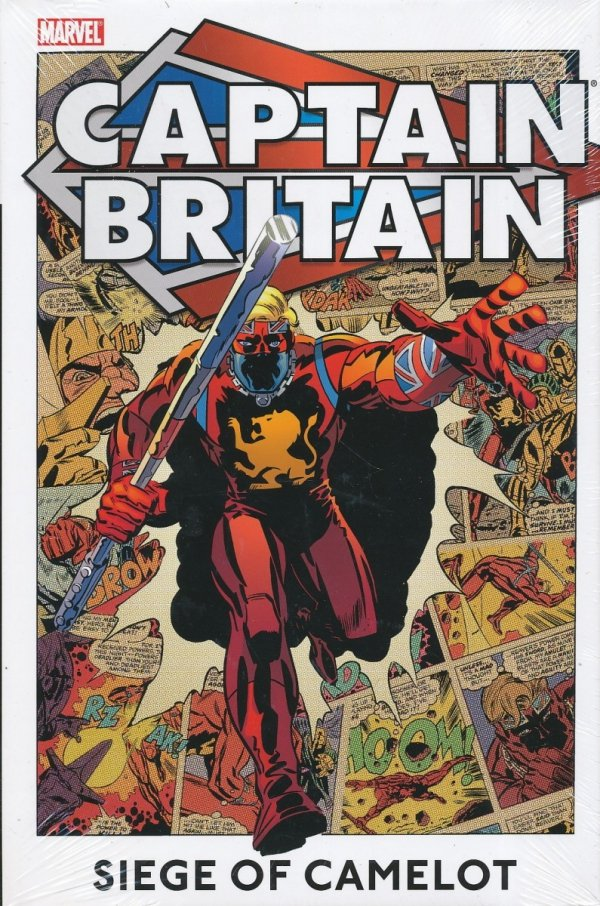 CAPTAIN BRITAIN VOL 02 SIEGE OF CAMELOT HC