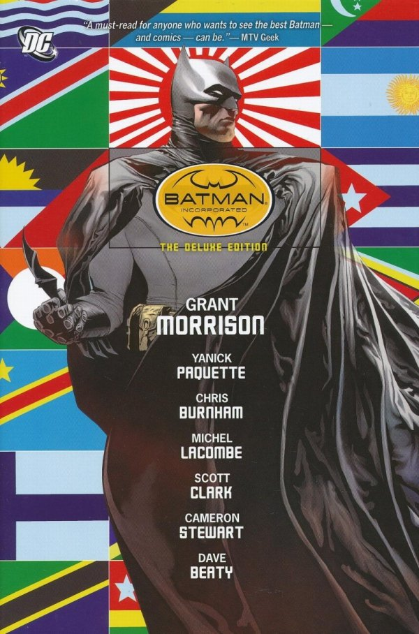 BATMAN INCORPORATED THE DEUXE EDITION HC