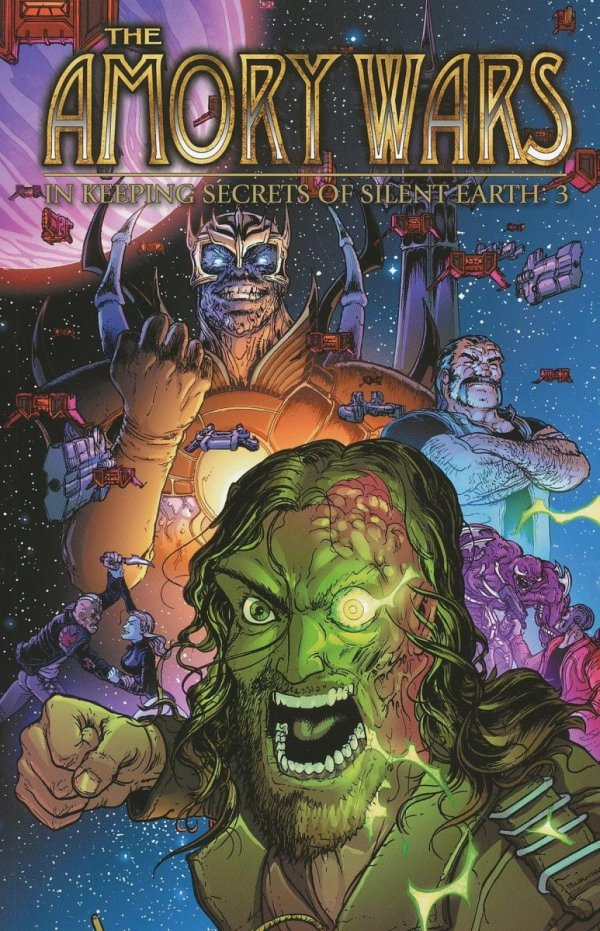 AMORY WARS IN KEEPING SECRETS OF SILENT EARTH 3 VOL 03 SC (SALEństwo)