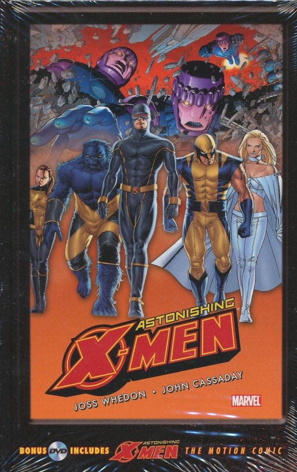 ASTONISHING X-MEN GIFTED HC (WITH MOTION COMIC DVD)