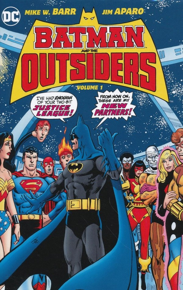 BATMAN AND THE OUTSIDERS VOL 01 HC