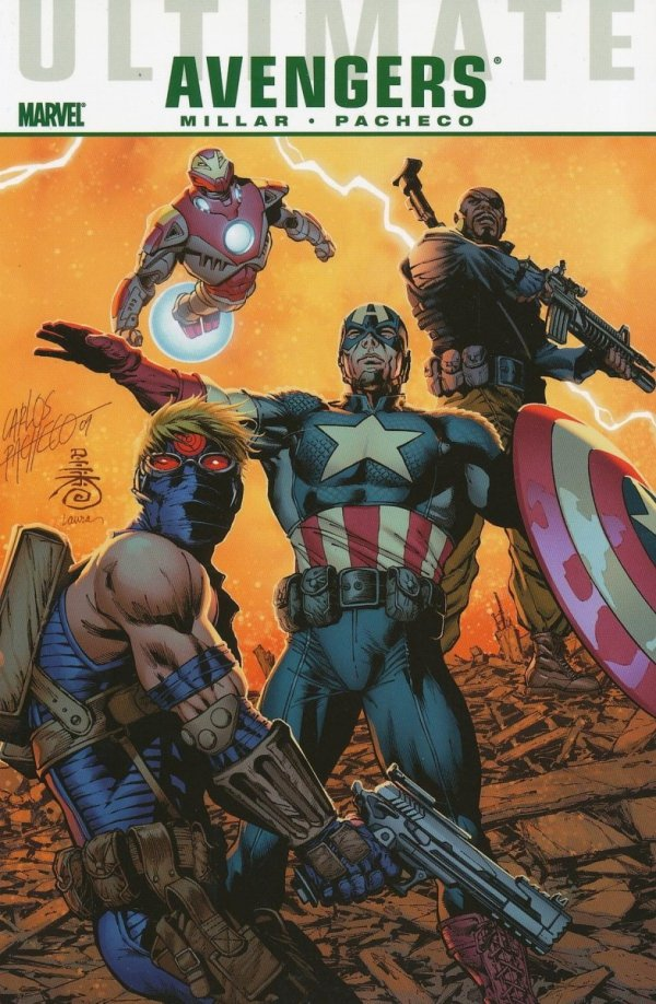 ULTIMATE COMICS AVENGERS NEXT GENERATION SC