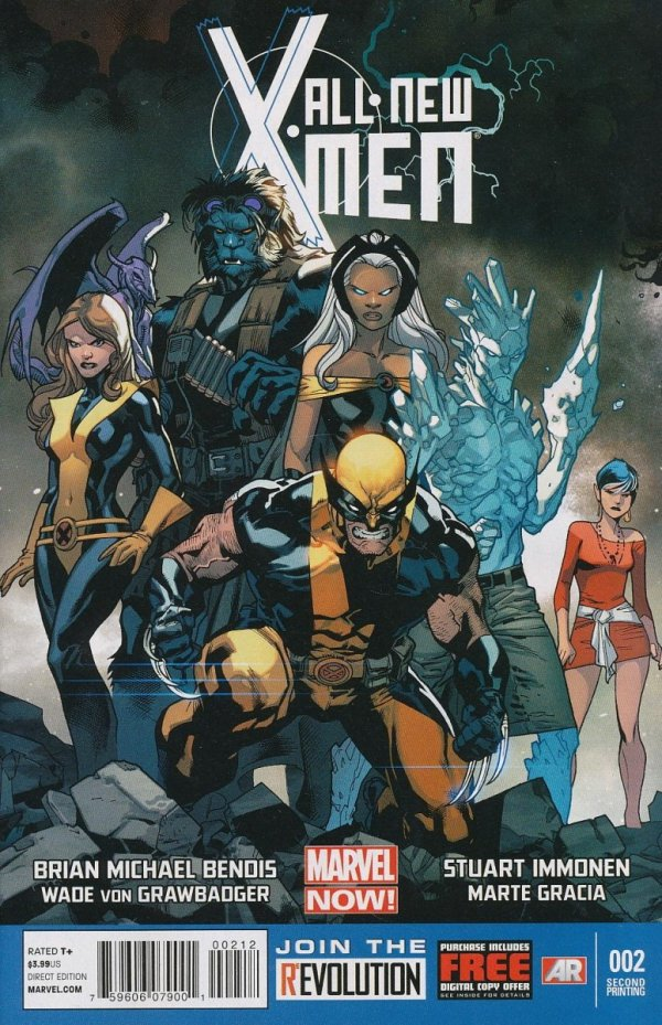 ALL NEW X-MEN #2 2ND PTG