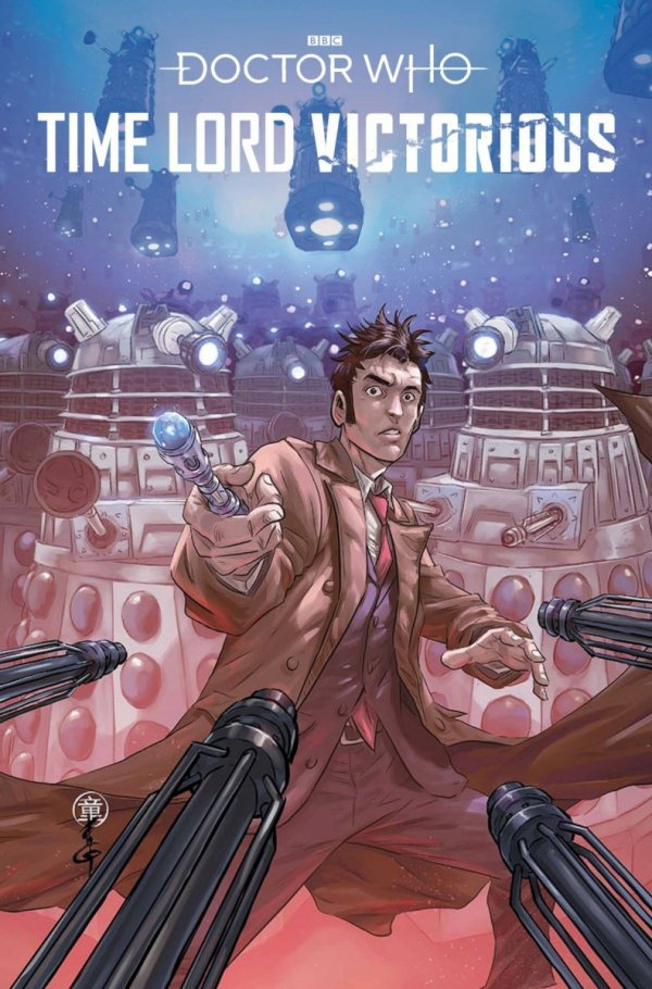 DOCTOR WHO TIME LORD VICTORIOUS #1 CVR C QUAH *