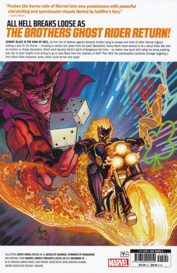 GHOST RIDER TP VOL 01 KING OF HELL