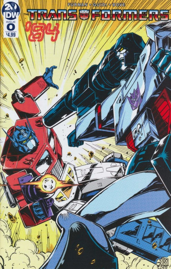 TRANSFORMERS 84 #0