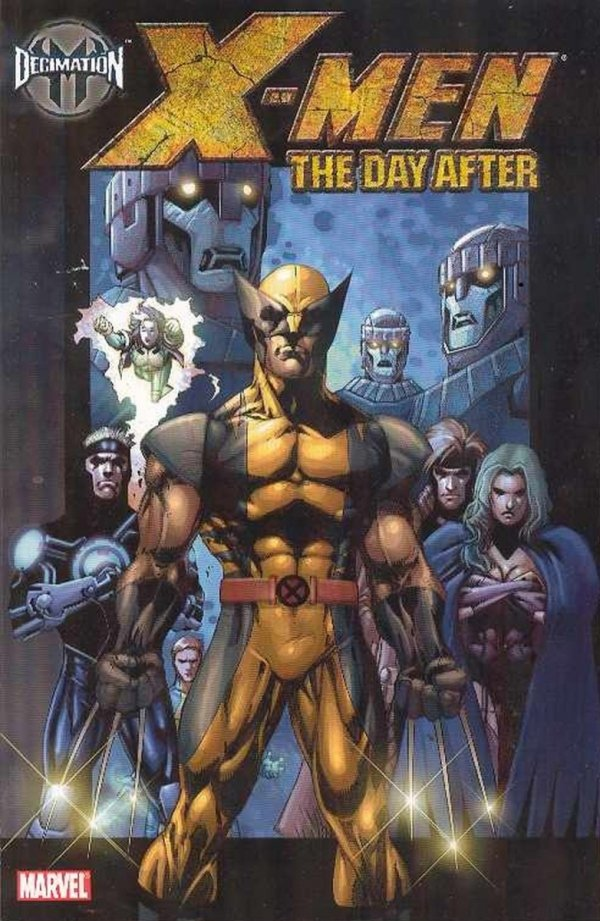 DECIMATION X-MEN THE DAY AFTER SC *