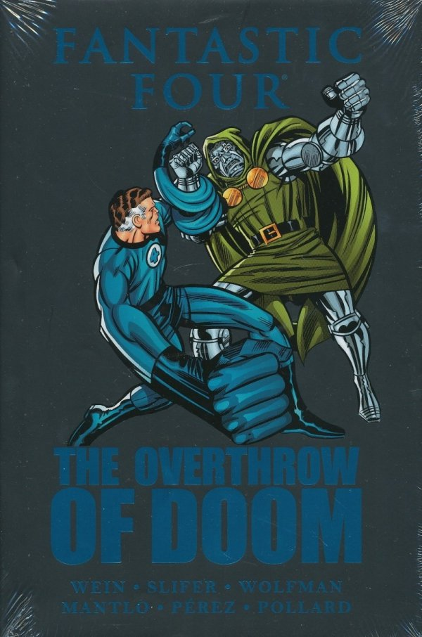FANTASTIC FOUR THE OVERTHROW OF DOOM HC (STANDARD COVER)