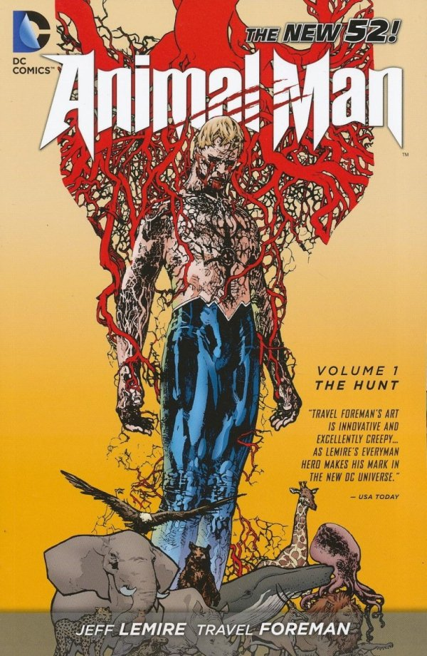 ANIMAL MAN VOL 01 THE HUNT SC