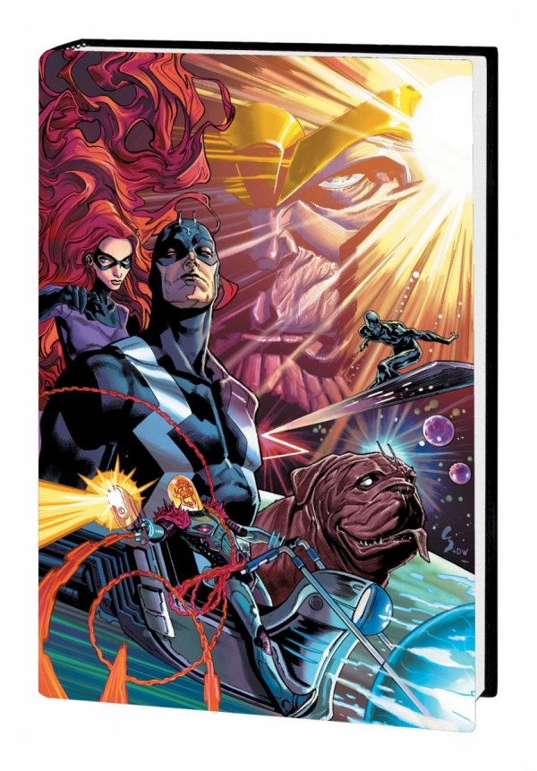 MARVEL COSMIC UNIVERSE BY CATES OMNIBUS VOL 01 HC (STANDARD COVER) *