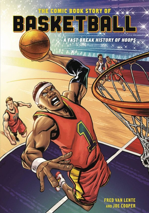 COMIC BOOK STORY OF BASKETBALL GN *