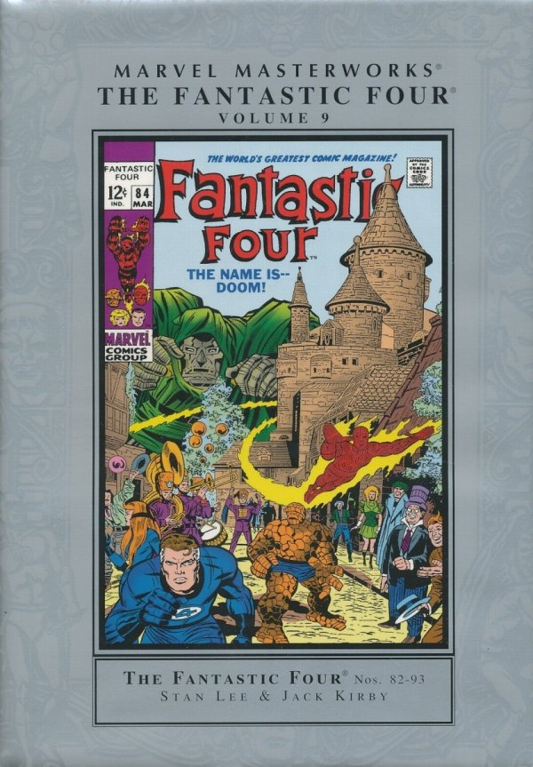 MARVEL MASTERWORKS THE FANTASTIC FOUR VOL 09 HC (NEW EDITION) (STANDARD COVER)