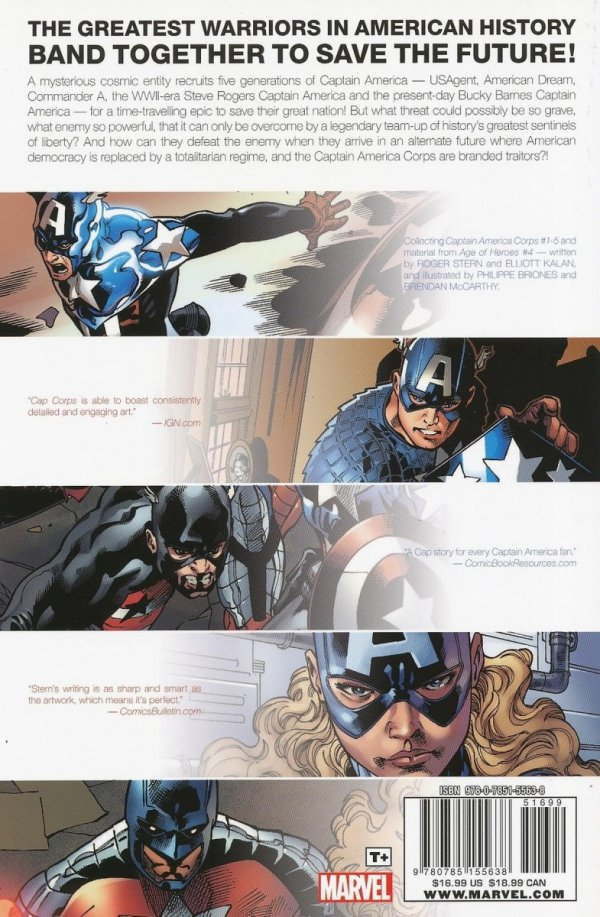 CAPTAIN AMERICA CORPS TP