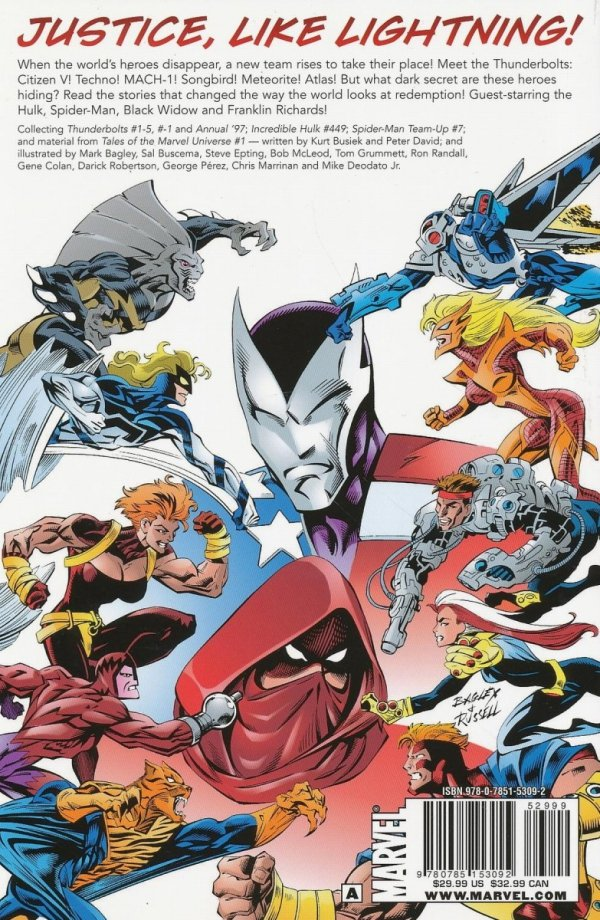 THUNDERBOLTS CLASSIC VOL 01 SC (OLD EDITION)