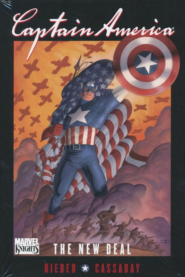 CAPTAIN AMERICA THE NEW DEAL HC